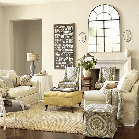 Square Tufted Storage Ottoman Two Accent Chairs Good Size For Living Room