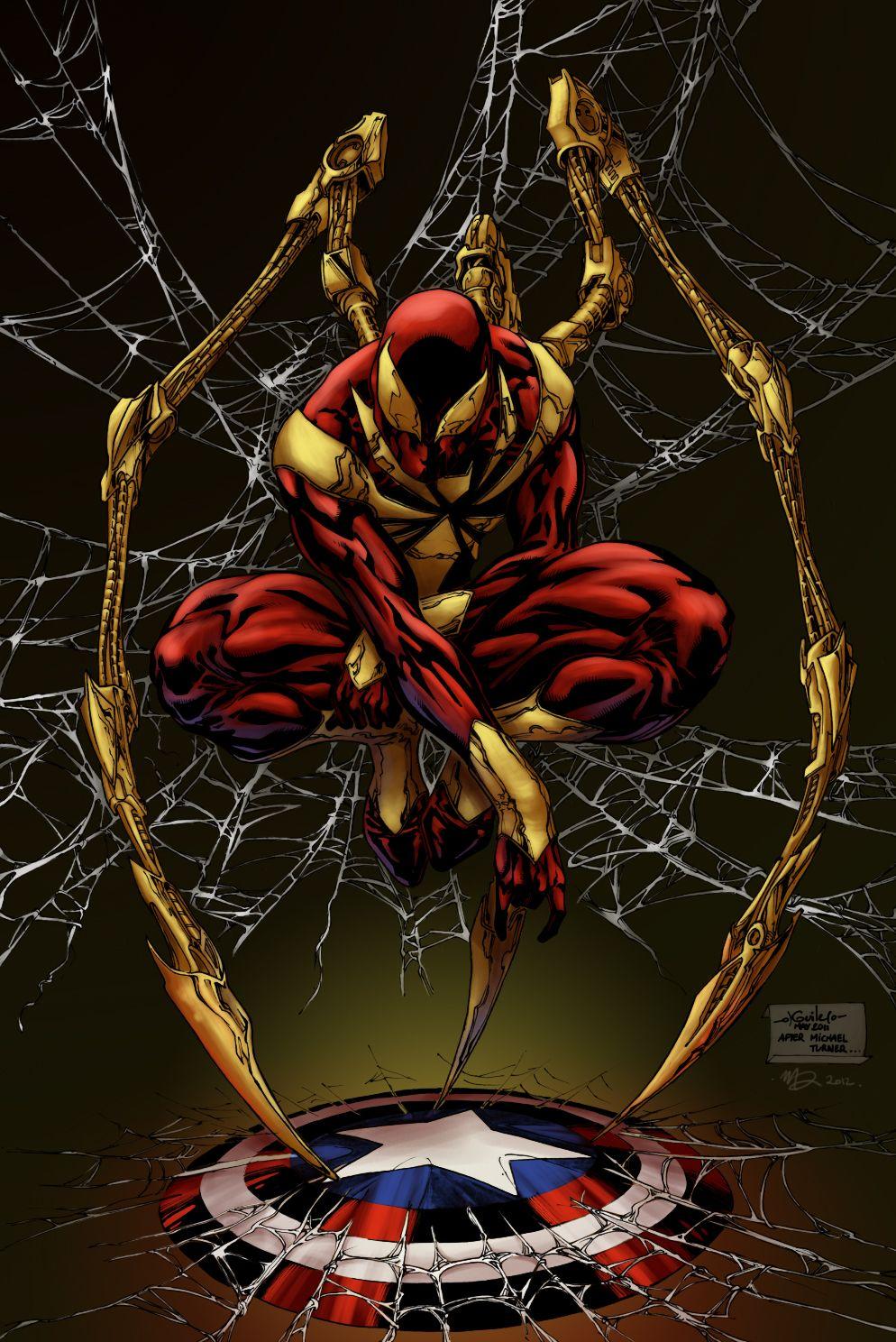 Iron SpiderMan Misda colors by SpiderGuile.deviantart