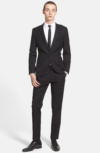 Topman Skinny Fit Suit available at #Nordstrom