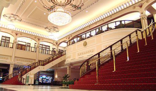 Titanic staircase at casino nova scotia killer whale game level 2-3