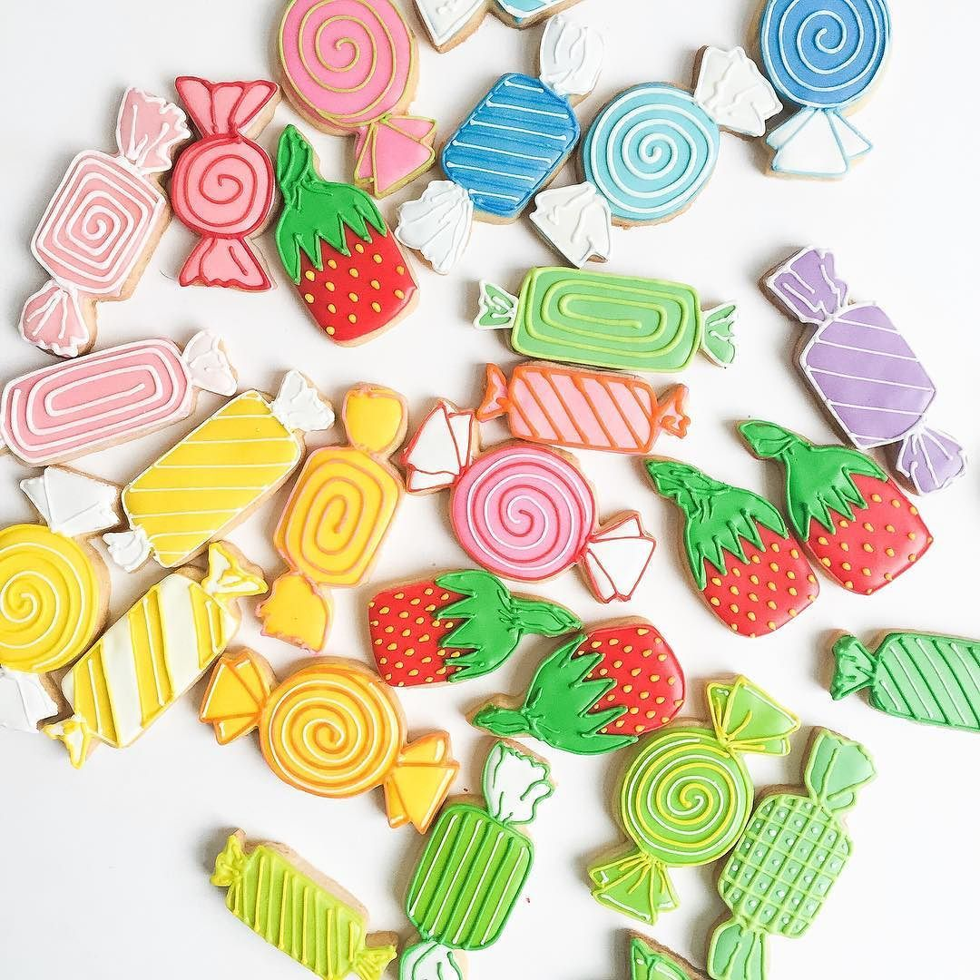 Candy Cookies and Color are the subjects of my new blog post just up on Ohhappyday.com. Great project for these gray mid-winter days. by bakedideas You can follow me at @JayneKitsch