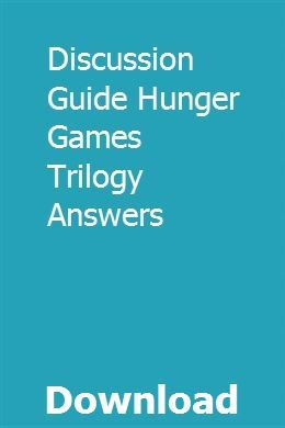 Hunger games trilogy books free download