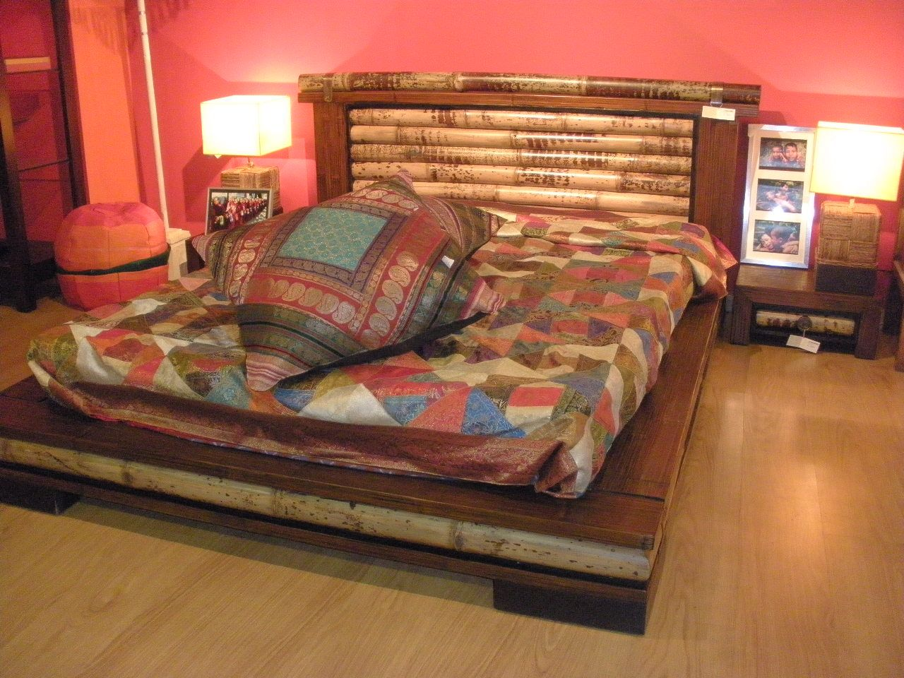 Dormitorio sha cama tatami completa con resistente somier - Somier japones ...