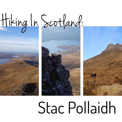 Stac Pollaidh, in the Scottish highlands is one of the best hikes in Scotland. It's close by the North Coast 500 too. Here's all the info you need to do it!