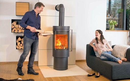 Homeplaza - Kaminöfen: angenehme Strahlungswärme statt trockener Heizungsluft - Behagliche Wärme in der Übergangszeit