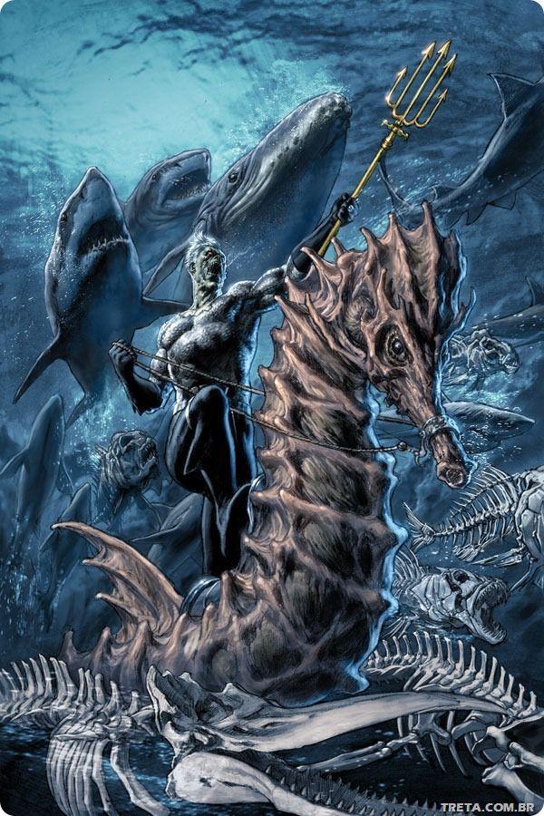 Quadrinhos que lavam a honra do Aquaman - TRETA