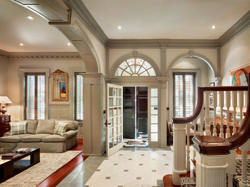 classical style interior beautiful houses inside homes also can   imagine this space without the millwork azing rh au pinterest
