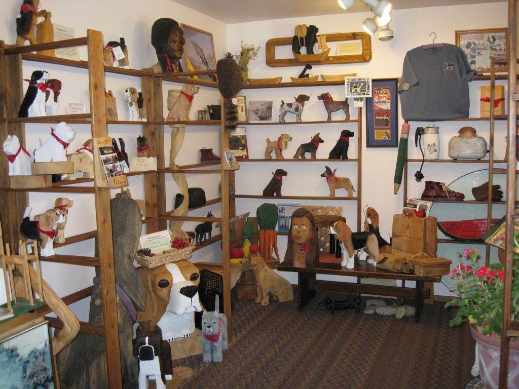 Souvenir Shop At The Dog Bark Park Inn, Cottonwood, Idaho