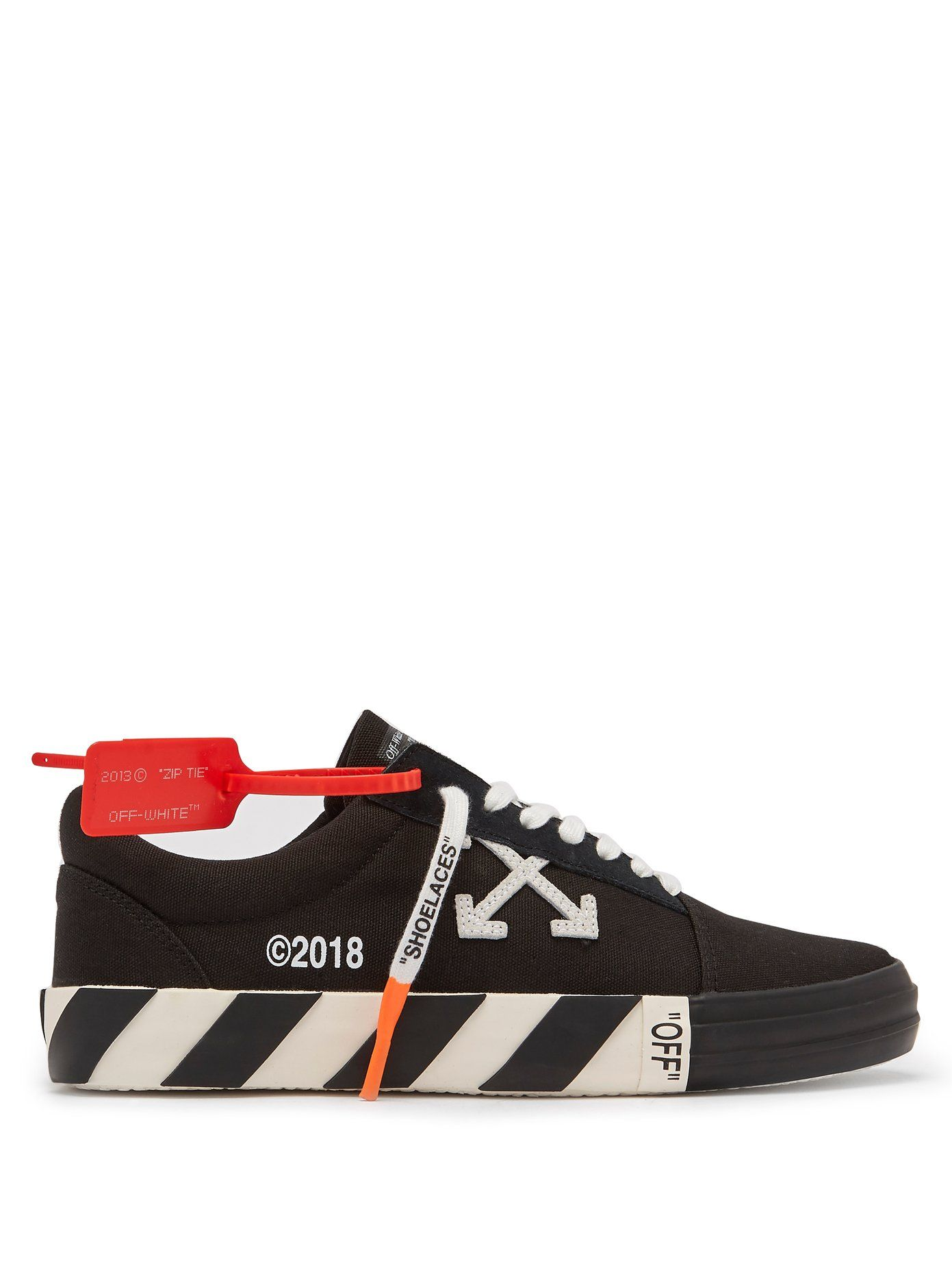 d9335b05371899 Off-White VULC canvas trainers