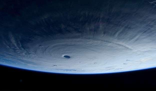 Typhoon Maysak - AP Photo/NASA, Samantha Cristoforetti