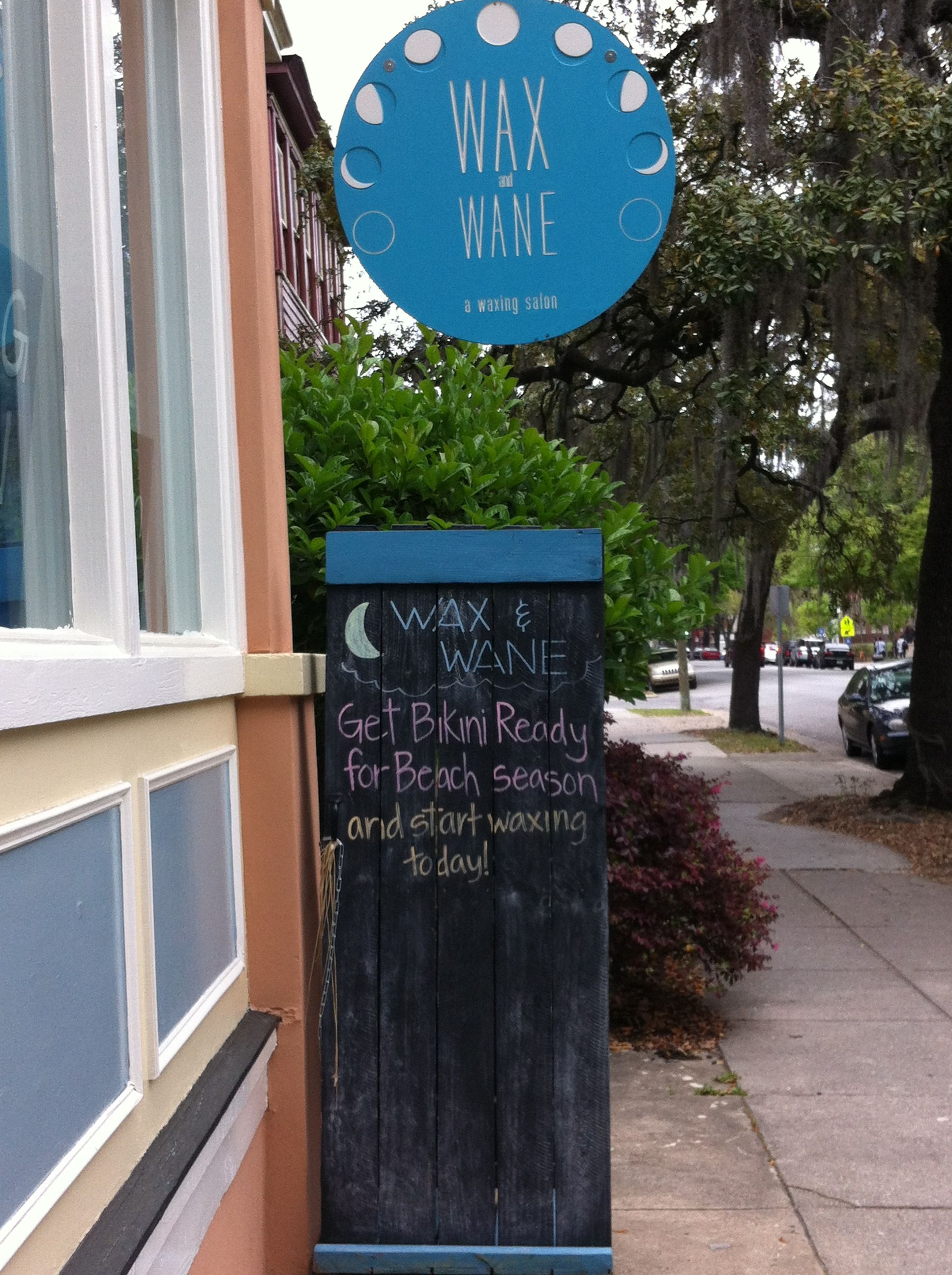 bac79224dbc This is truly the funniest name for a waxing salon ever! | Savannah ...