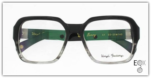 0d17e9da2d1 Vinyl Factory Berry-C1 Collection in Grey. Artistic and musically inspired  handmade retro eyewear