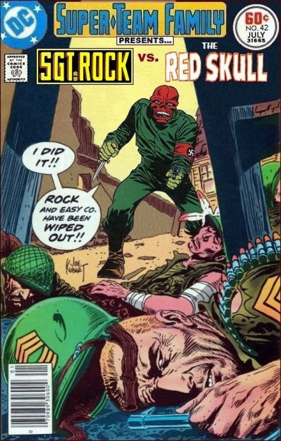 SuperTeam Family The Lost Issues Sgt Rock Vs The Red Skull