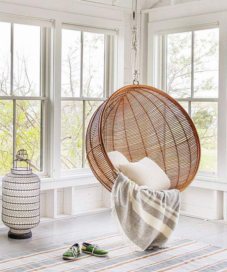 Pin By Chirine Khalaf On Home Interior: 8 Ambientes Com Cadeiras Suspensas Que Bombam No Pinterest