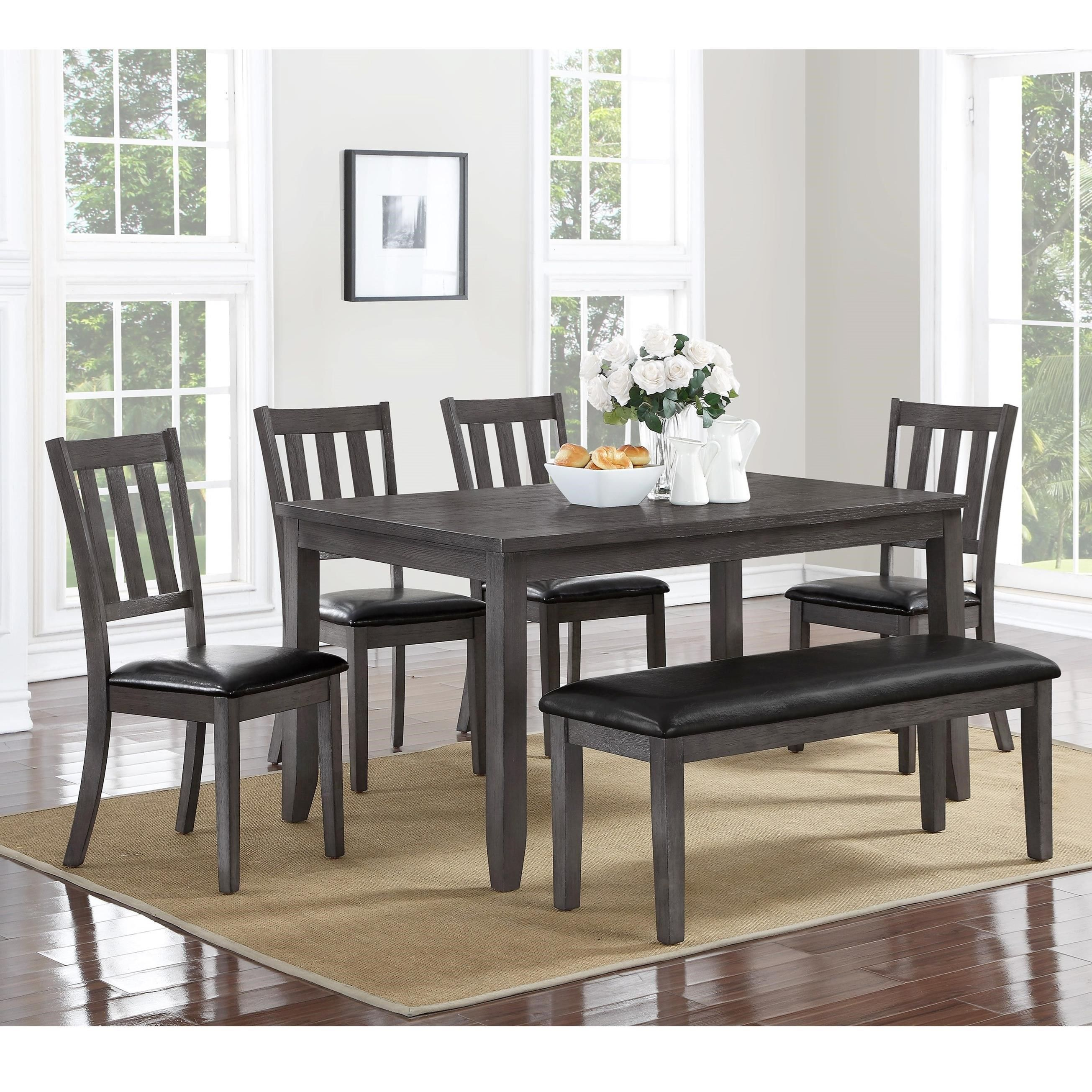 Cosgrove Dining Table And Chair Set By Crown Mark At Furniture