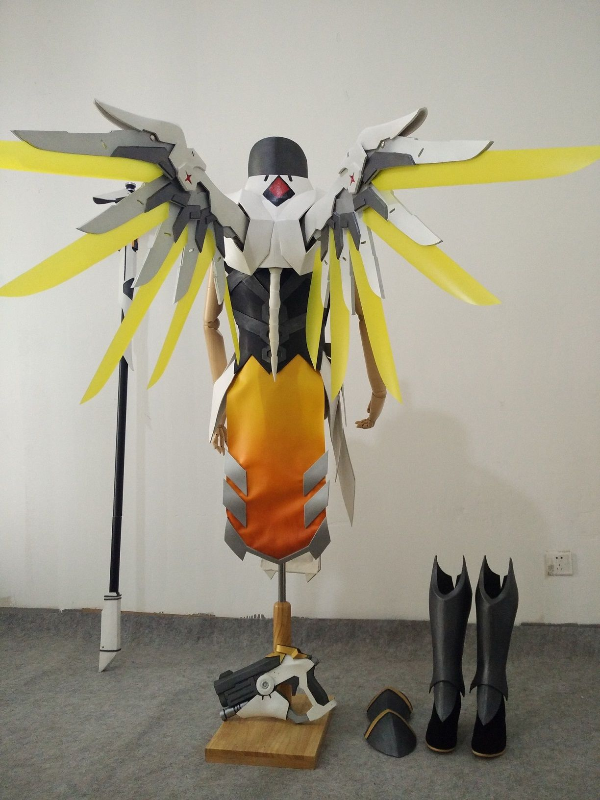 Overwatch Mercy Cosplay Armor   Costumes   Pinterest ...