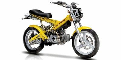 2009 Peirspeed Sachs MadAss 125 | Scooters