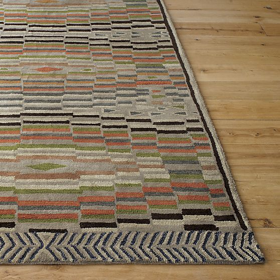 Barbara Costas Takes The Next Step With Traditional Triangle Motif Used In Tribal Rugs Of