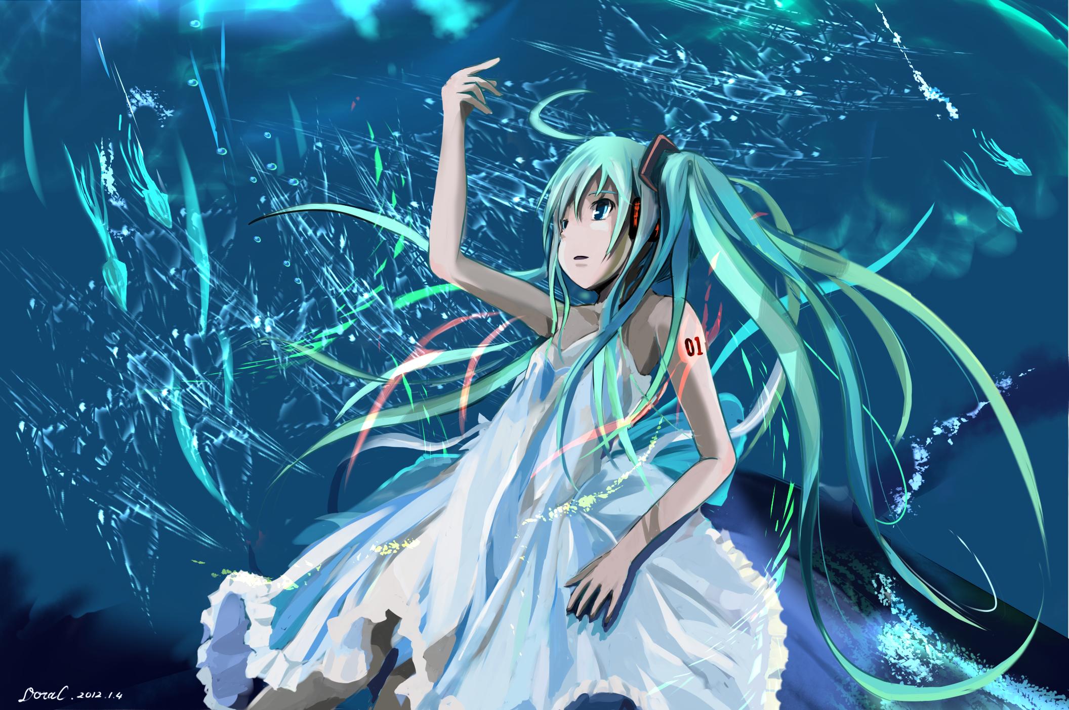 HatsuneMikuanimepng   anime
