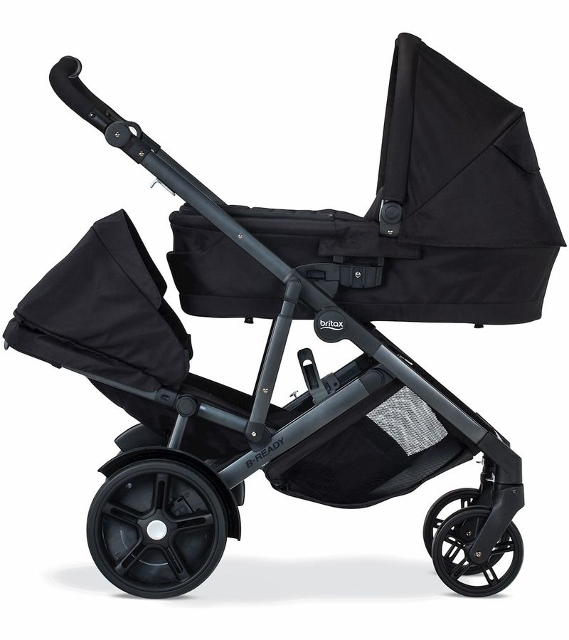 Britax BReady 2017 Double Stroller Black Awesome