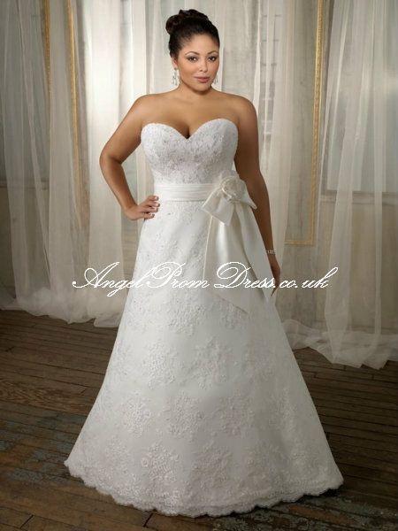 plus size wedding dress ♡