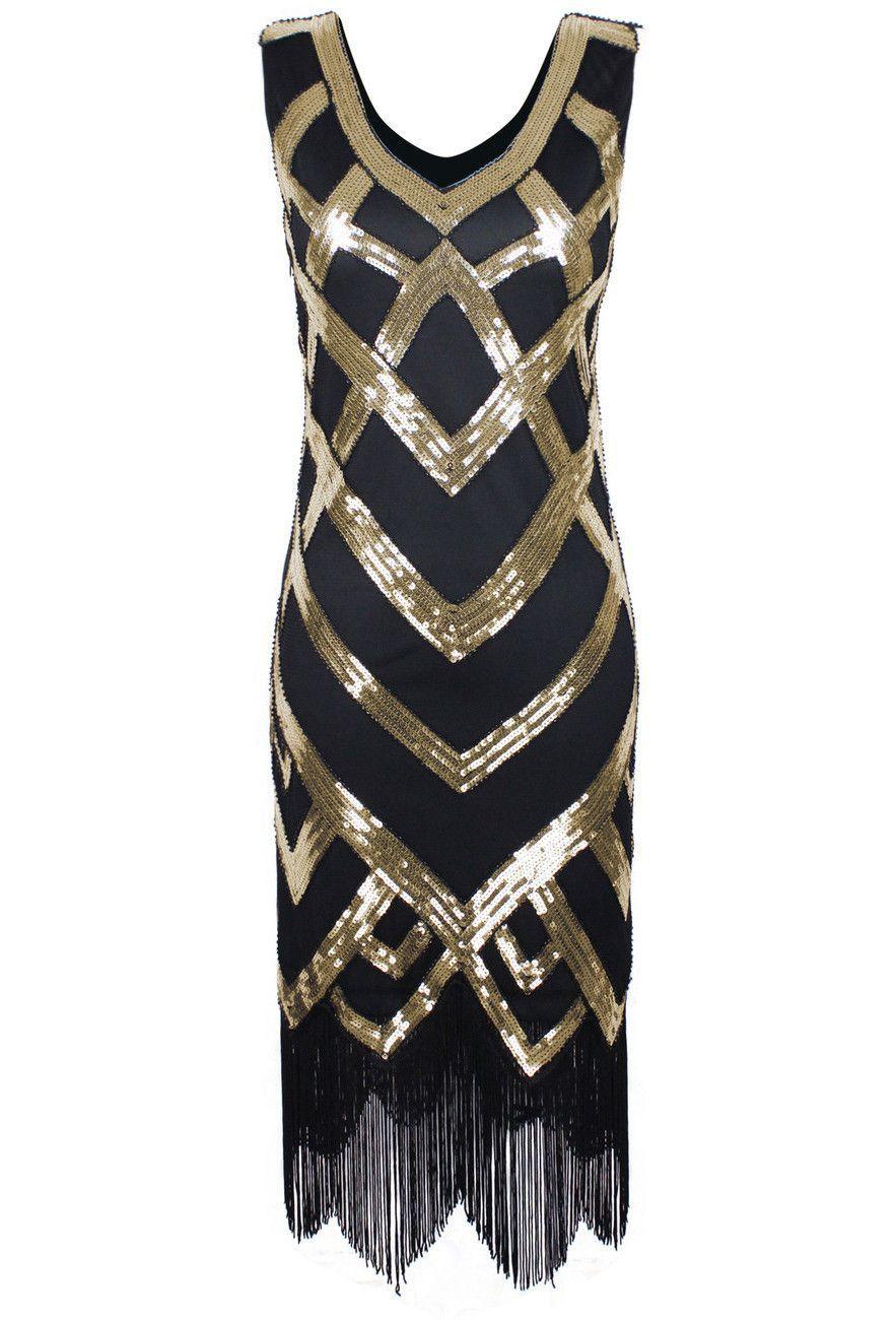 Our Deco Chevron Gown celebrates the beauty of Art Deco design ...