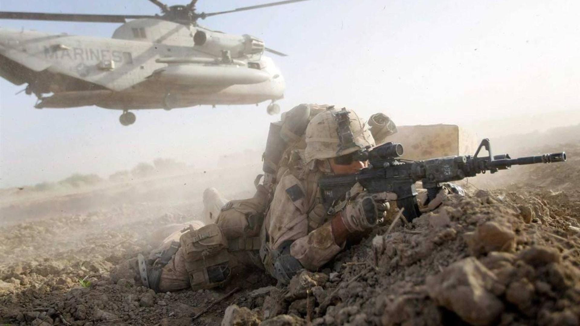US Marines in Afghanistan  Combat Footage 1080p - Intense Firefights
