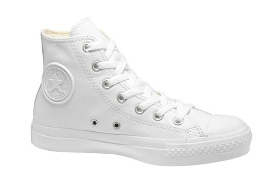 converse hi tops white leather