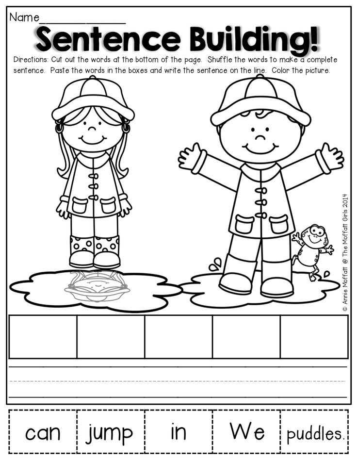 Sentence building! Repinned by SOS Inc. Resources pinterest.com ...