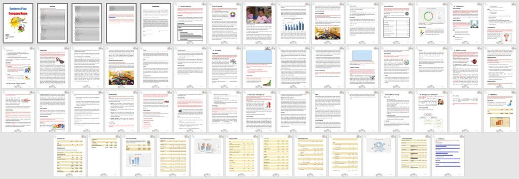 Daycare Business Plan Template (child care Daycare