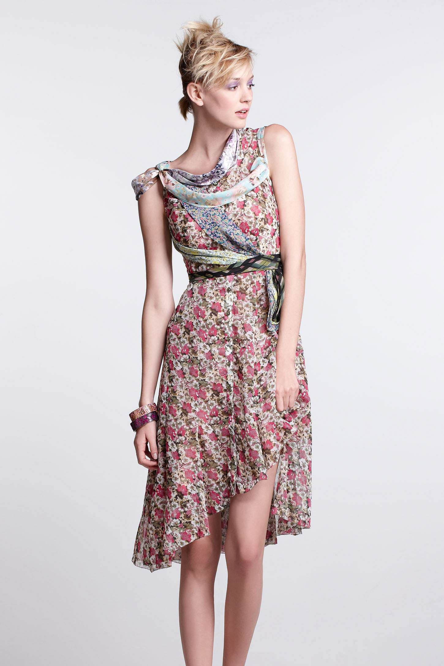 Wilderflora flounce dress anthropologie stylishness