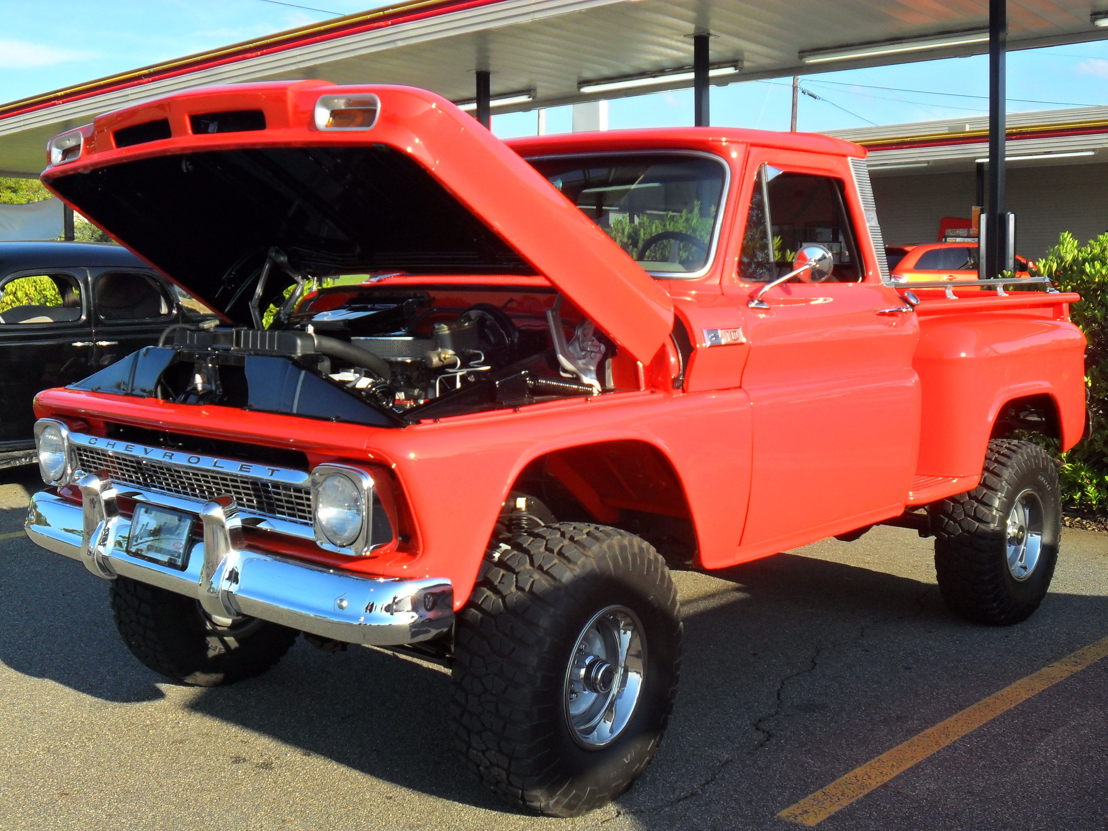 1964 chevy c 10 4x4 pickup classic trucks chevy. Black Bedroom Furniture Sets. Home Design Ideas