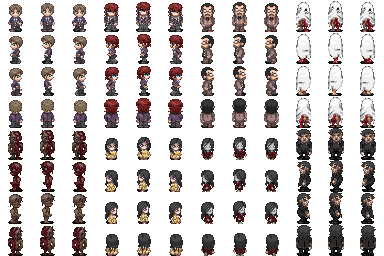 Corpse Party Sprites  VX/Ace  … | Projects to Try in 2019…
