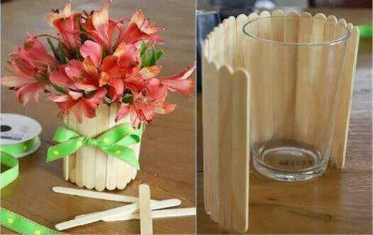 So Cute Flower Vase Diy Party Centerpieces Diy Crafts