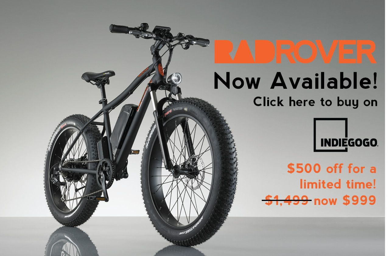 Pin On Radrover Electric Fat Bike