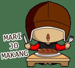 Stiker Manado By Deluqe Di 2020 Kota Manado Stiker Gifs Lucu