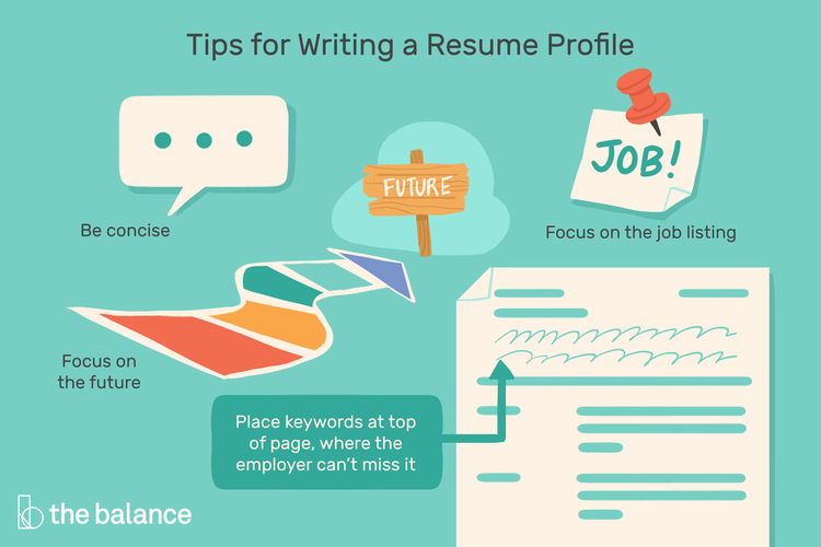 How to Write a Resume Profileprofile resume write in