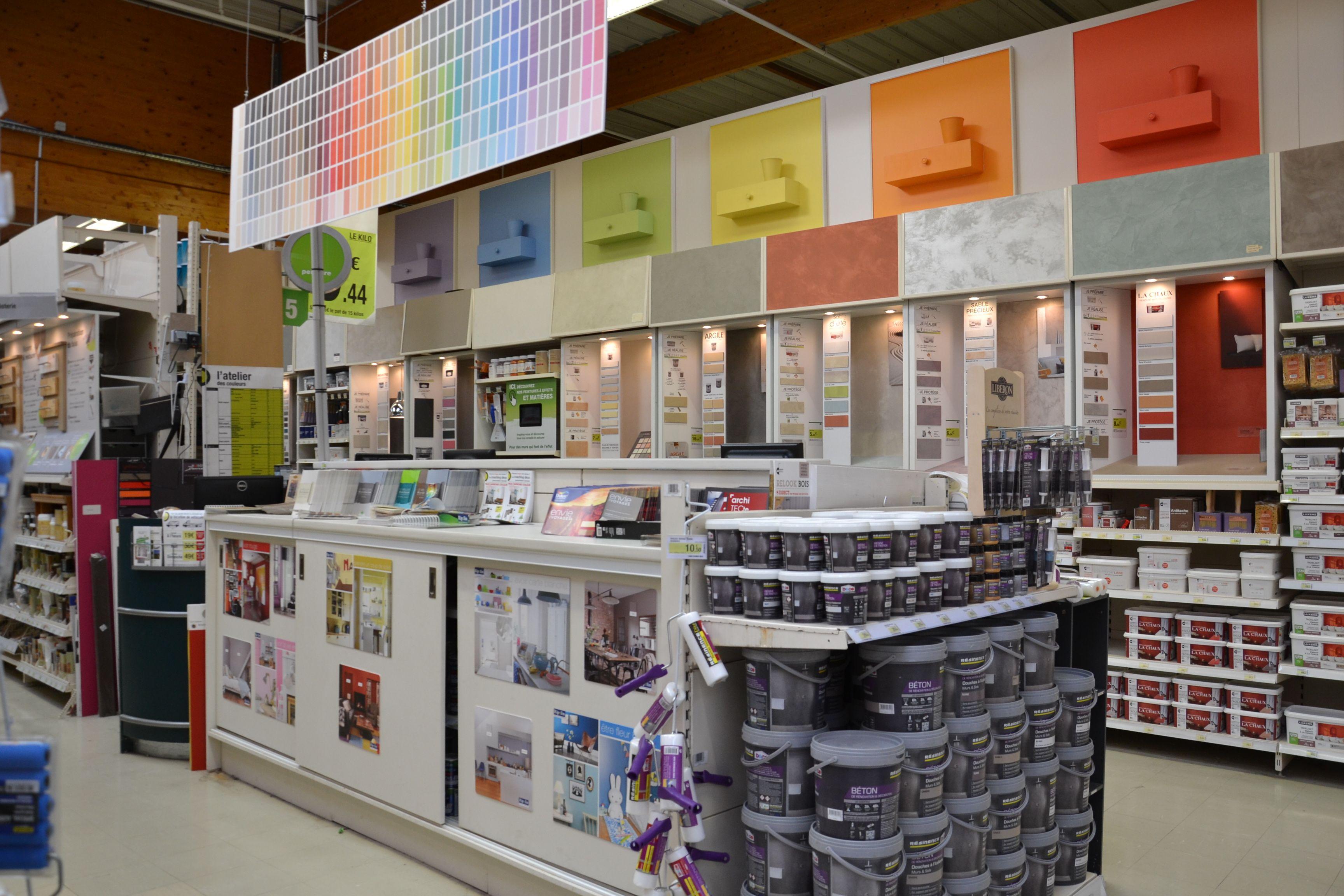 #peinture #couleur #rayon #equipe #magasin #leroymerlintrignac #trignac  #loireatlantique #bricolage #catalogue #maison #france