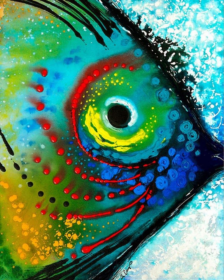 Cuadros abstractos faciles tecnica buscar con google - Ideas para pintar cuadros ...