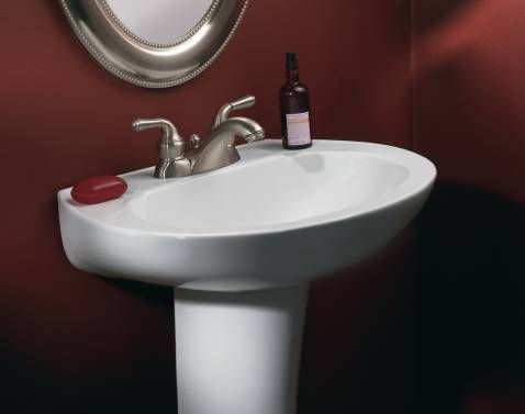 Moen 4551 Monticello Two-Handle Low Arc Lavatory Faucet with Drain Assembly Chrome