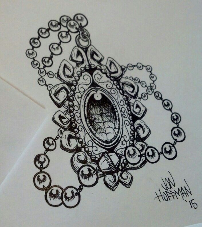 Amulet #necklace #tattoo #tattooidea #drawing #amulet