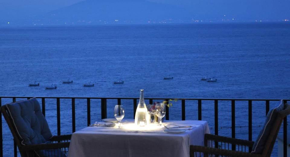 For a perfect evening...At JK Place in Capri, Italy