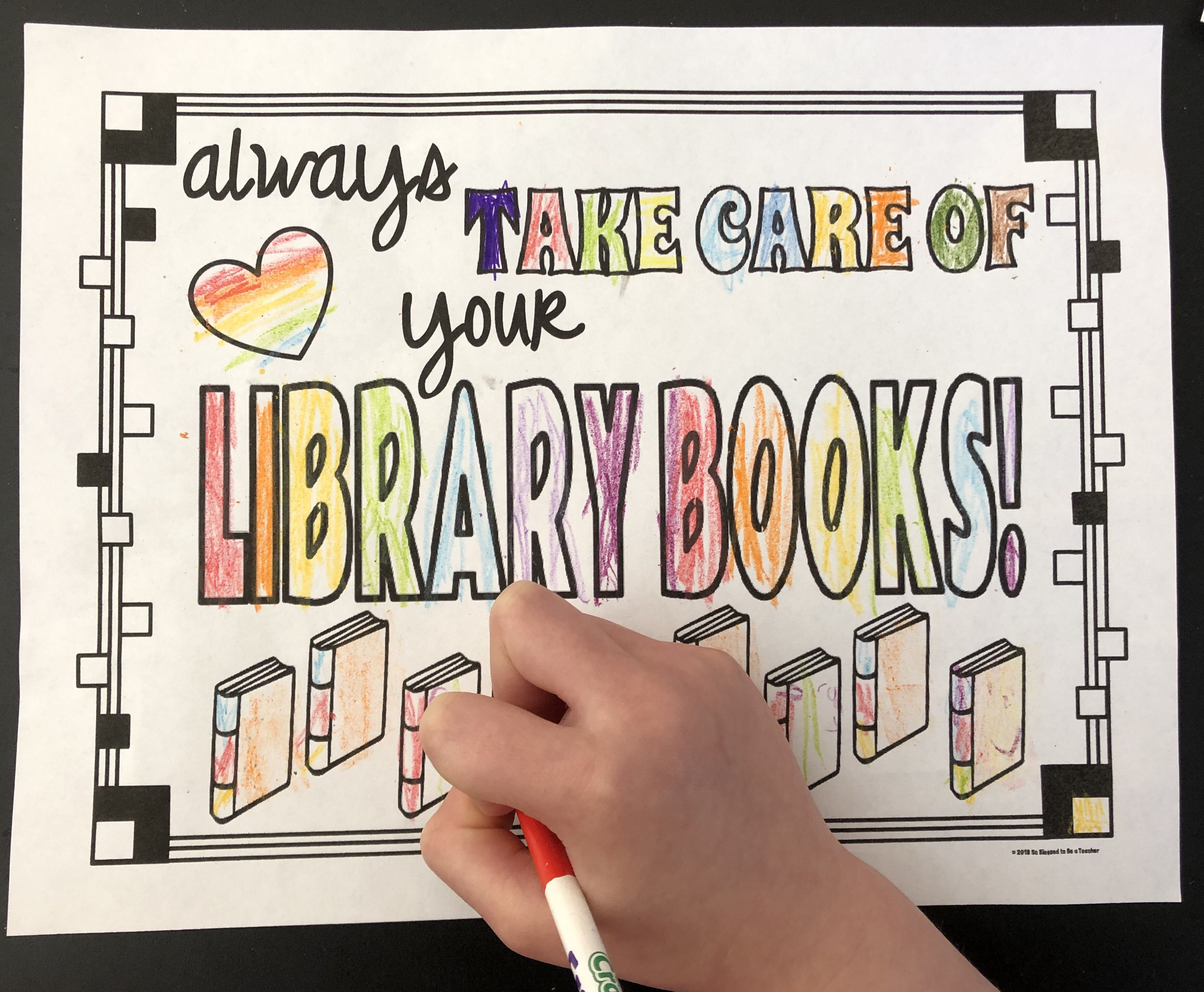 Library Skills Printable Worksheets For Kindergarten And