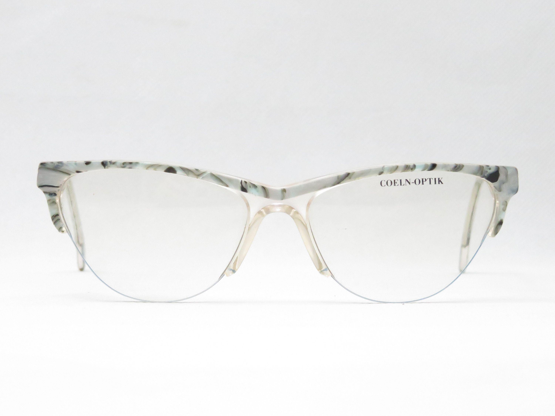 Vintage Brille Von Coeln Optik Halbrand Brillengestell Aus Den