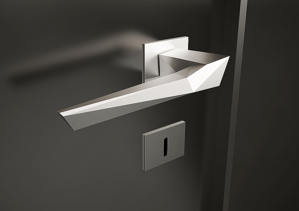*origami* door handle | studioforma | products | Pinterest ... - photo#6