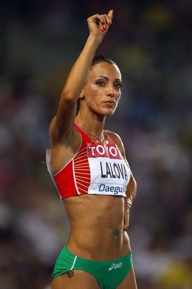 female track athlete nude