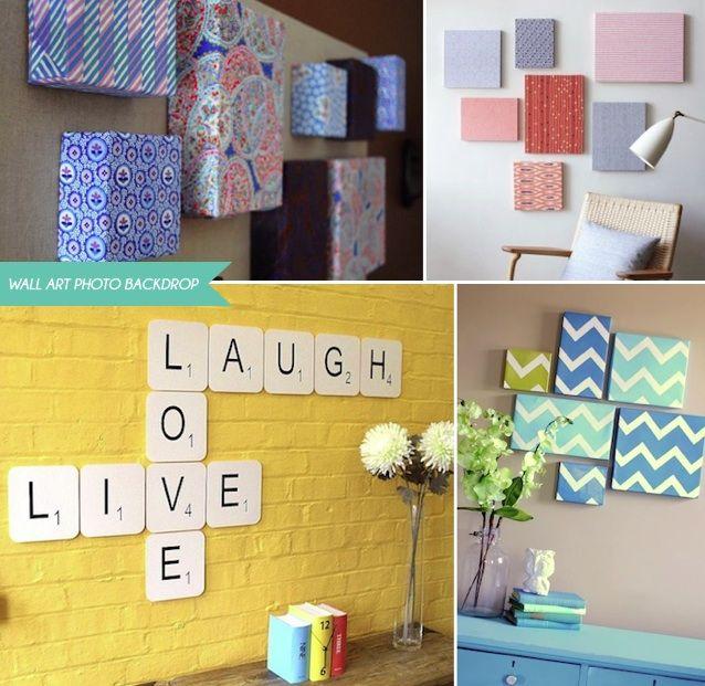 http://www.bridelicious.hk/blog/tag/fabric-wrap-shoebox-lids/ Wall ...