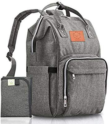 e0816392c3 Amazon.com   Baby Diaper Bag Backpack - Multi-Function Waterproof Travel  Baby Bags