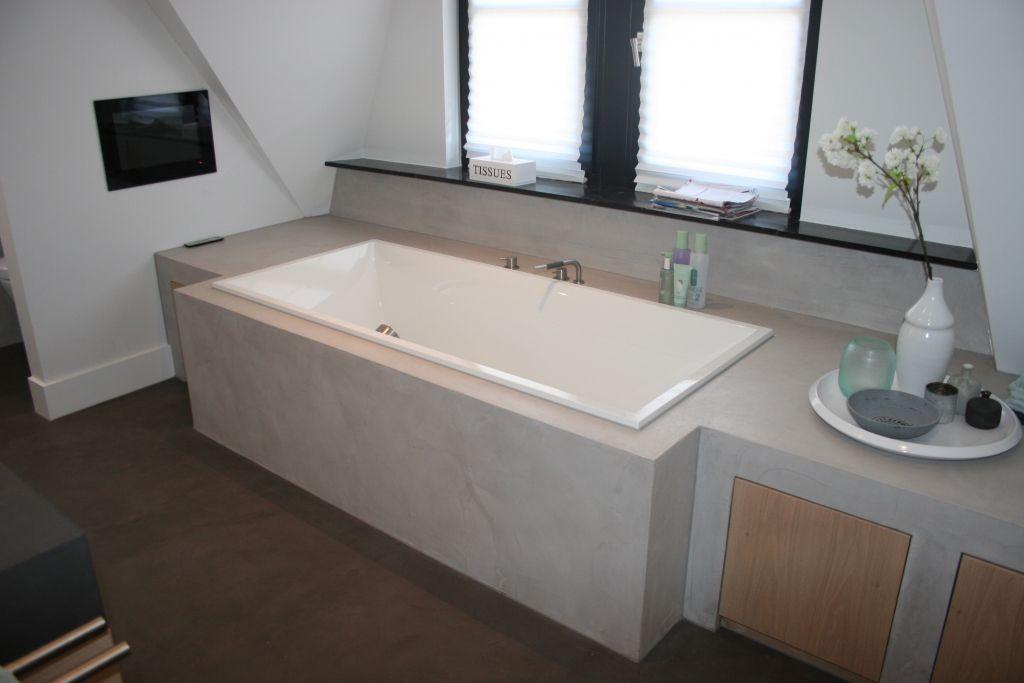 Beton Afwerking Badkamer : Betonlook badkamer beton cire in natte ruimtes betonlook