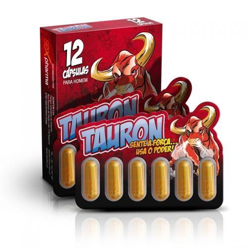 TAURON é um potenciador sexual 100% natural. Com o TAURON vai obter as ereções mais firmes de sempre, intensificar os orgasmos, controlar melhor as ejaculações e vai aumentar o seu desejo sexual. EFEITO ATÉ 96 HORAS.